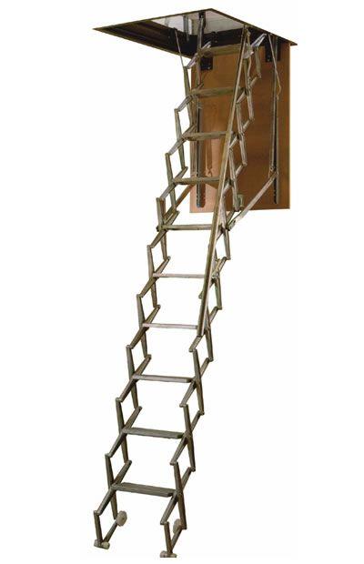 Escalera de techo de aluminio para la buhardilla - Escalera para buhardilla ...