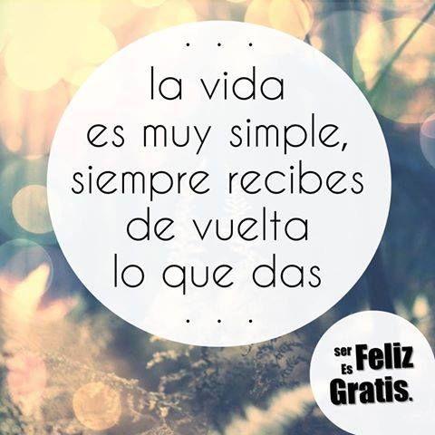 Así de simple