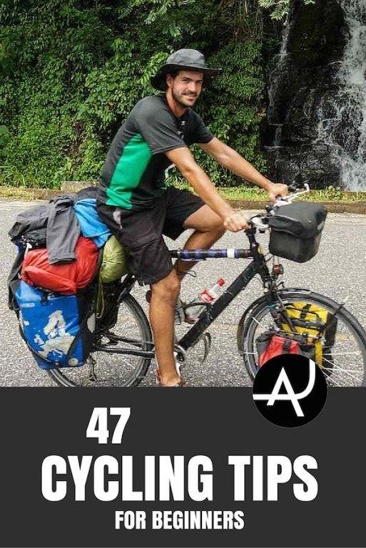 47 Travel Tips To Plan Your First Bike Tour Bike Trips Bike Tour Cycling Trips
