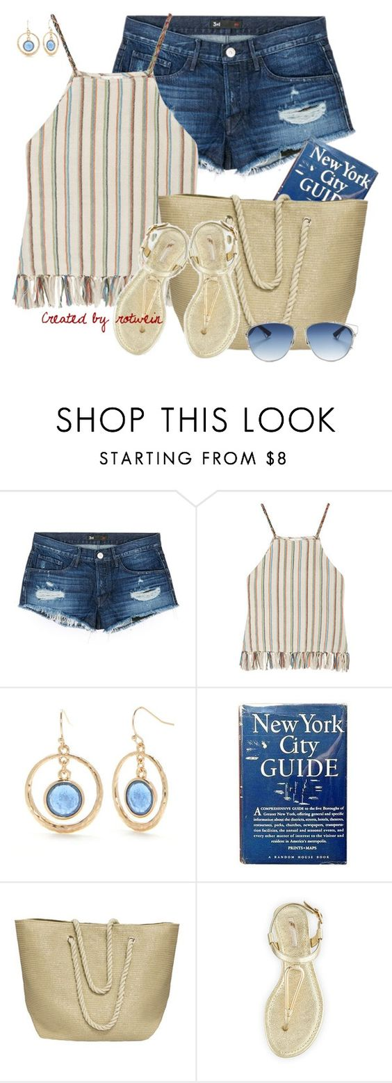 """""""Manuella"""" by rotwein ❤ liked on Polyvore featuring 3x1, Miguelina, New Directions, Cappelli, BCBGeneration and Christian Dior"""