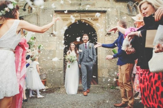 wedding ceremony exit ideas: