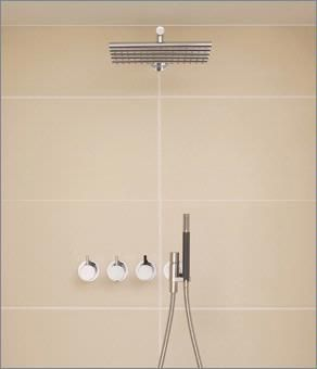 robinetterie douche vola thermostatic in wall mixer 3 4