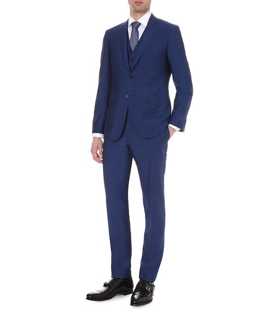 Mr. Jenks - Three-Piece Navy Canali Suit