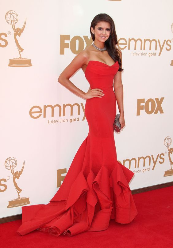 Nina Dobrev | 63rd Annual Primetime Emmy Awards | September 18, 2011