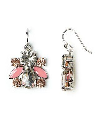 kate spade new york Frosty Floral Drop Earrings