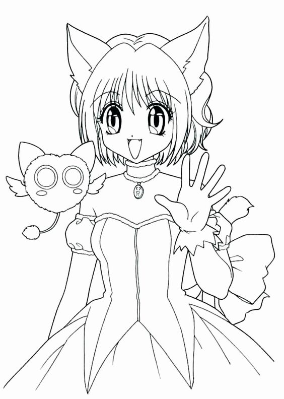 30 Anime Wolf Coloring Pages