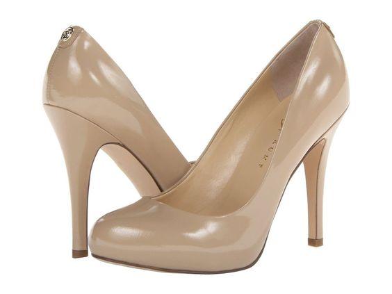 NIB - Ivanka Trump Pinkish 4 Light Natural Patent Women's Heels Pumps Size: 7 M #IvankaTrump #PumpsClassicsHeels