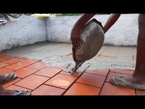 Amazing Cool Roof Technology How To Apply Cool Roof Tile Joint Fillup And Clean Up Using By Mortar Youtube Cool Roof Roof Tiles Mortar