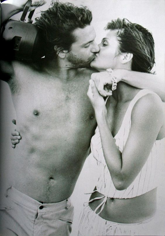 Michael Hutchence & Helena Christensen   Photography by Peter Lindbergh   1994