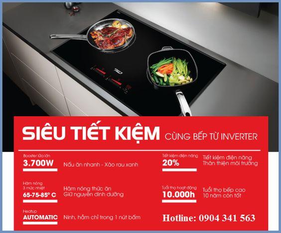 Tại sao nên dùng bếp từ Chefs inverter?