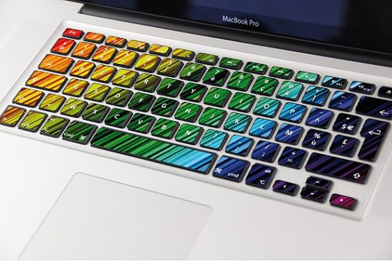 Keyboard for MacBook stickers by istickerfr on Etsy