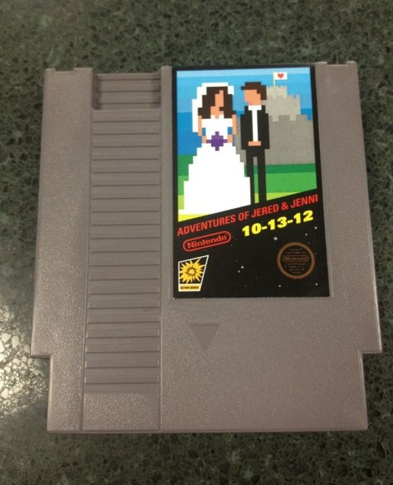 Awesome Gamer Wedding Invites