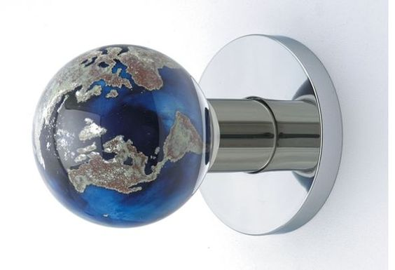 Drawer pulls home and drawers on pinterest for Glass globe doorknob