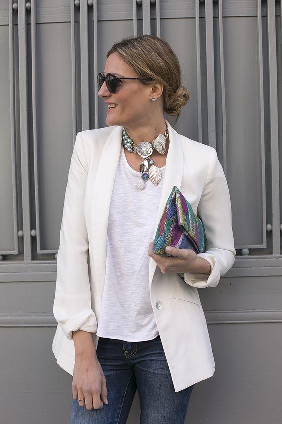 Estilismo propuesto el el blog Guia de Estilo para la gargantilla Astoria Audrey gris de #Gilda's Closet coral de la croix, gildas closet, new season, style, cristina blanco, guy de estilo, fashion blogger, spanish fashion blogger