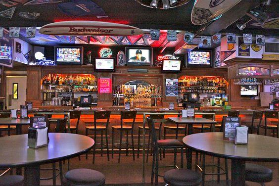 Modern Sports Bar Design