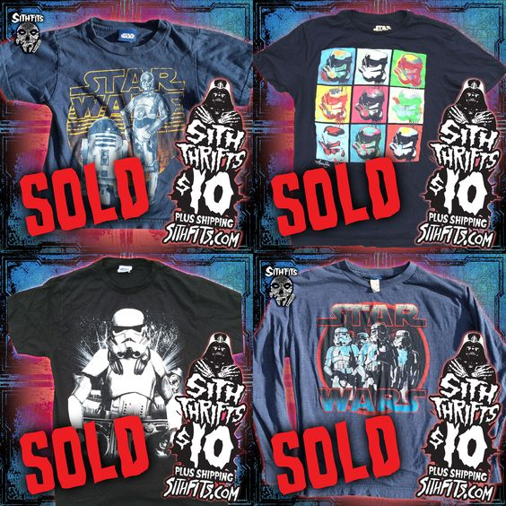 Had a great weekend at the Sithfits/Star Girls Burlesque Show! Sith Thrifts was a total hit! More Sith Picks will be uploaded to the site this week! Sithfits.com #Sithfits #TheSithfits #SithThrifts #ThriftPicks #StarWars #VintageClothes #StarWarsTees #SOLD