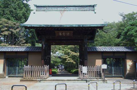 彦根藩井伊家の江戸菩提寺の豪徳寺