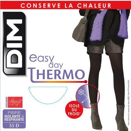 Découvrez notre collection de Collant noir Easy Day Thermo isole du froid - 55D au meilleur prix sur dim.fr