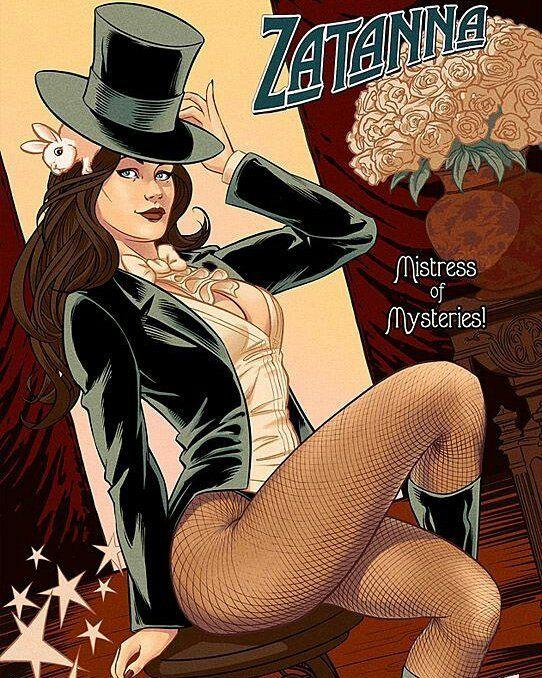 Zatanna! By Chris Evenhuis  #zatanna #zatannazatara #dccomics by devilzsmile.com #devilzsmile