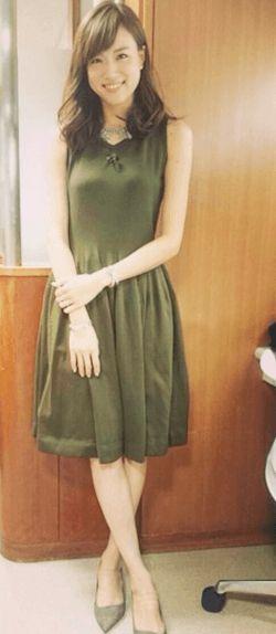 スタイルも良い笹川友里さん