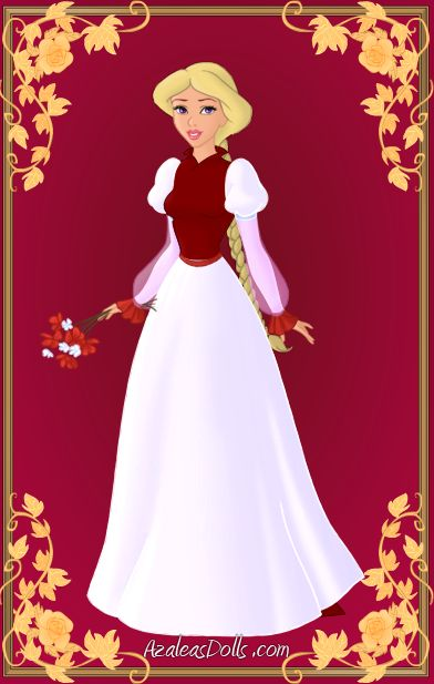 Odette { Red and White Dress } by ~kawaiibrit on deviantART: