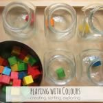 Playing with Colours: creating, sorting, exploring
