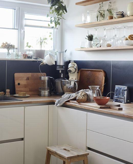 Etagere Bois Cuisine Ikea