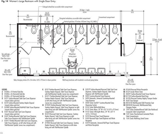 ada bathroom bathroom layout and layout on pinterest