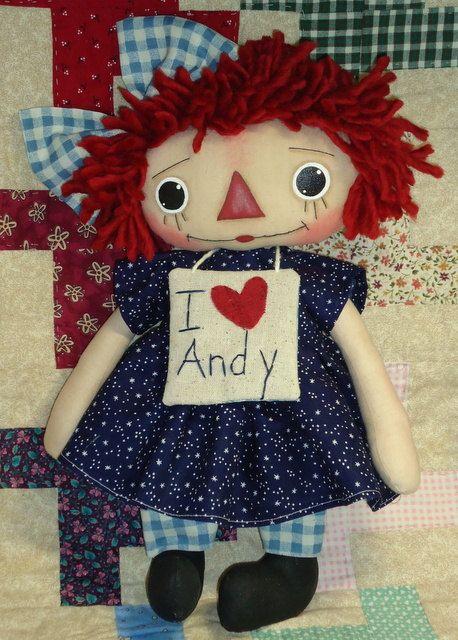 Raggedy Ann Loves Andy