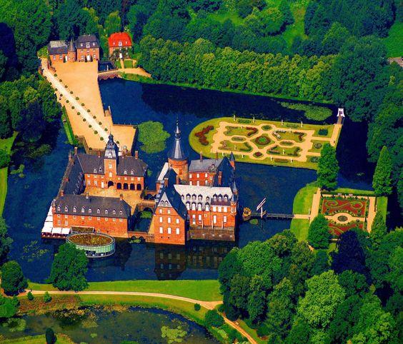 Burg Anholt, Nordrhein Westfalen, Deutschland