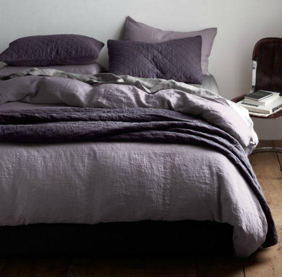 Dark Purple And Grey Bedding Google Search House
