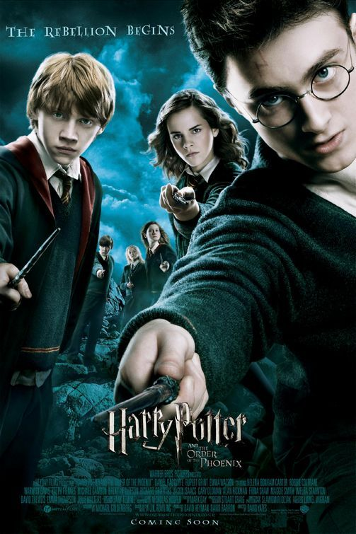 Harry Potter and the Order of the Phoenix (2007) Daniel Radcliffe, Rupert Grint, Emma Watson: