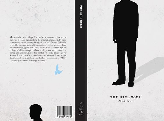 book cover for the stranger l etranger by albert camus the  book cover for the stranger l etranger by albert camus the stranger book cover variations book covers albert camus and books