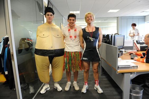 Sportswear International supporting Sport Relief 2012. (School sports day and fancy dress)