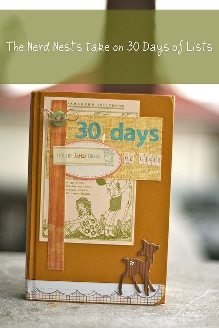 My take on 30 Days of Lists!