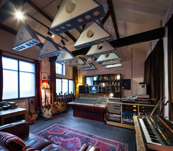 Vintage Neve Console At Hoxa Studio In West London