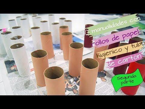Como Hacer Un Porta Rollo De Cocina De Papel Periodico How To