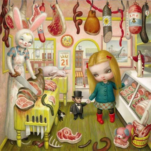 by Mark Ryden                                                                                                                                                      More