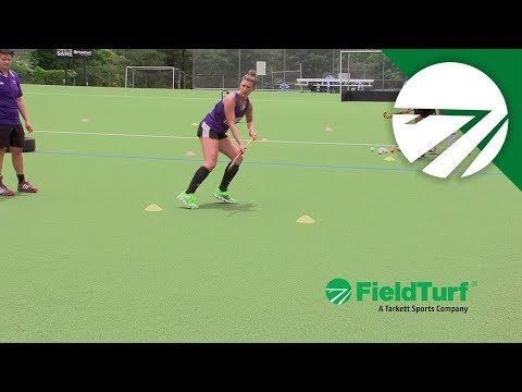 The Shuttle Passing Drill Field Hockey Training With Amy Cohen Youtube Hockey Training Field Hockey Drills Field Hockey