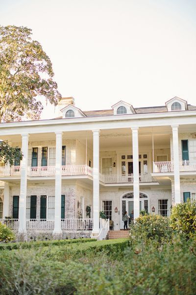 Old southern plantations southern plantation homes and for Old southern style homes