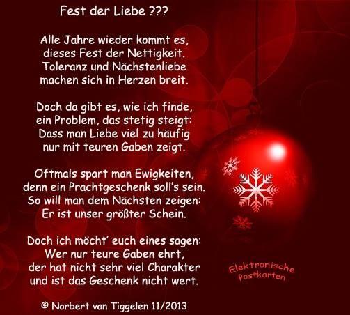 Weihnachten Advent Van Tiggelen Gedichte Menschen Leben Weisheit Welt Erde Gesellschaft Gefuhle Weihnachtsspruche Zitate Weihnachten Weihnachtstexte