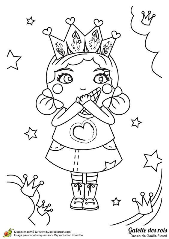 Image colorier d une jolie petite fille qui mange sa - Fille a colorier ...