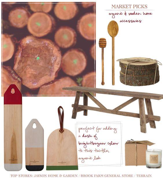 Natural kitchen ware