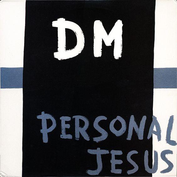 Depeche Mode – Personal Jesus (single cover art)