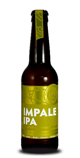Impale Ale offers a cascade fizzy flavors: bitter bitter aroma and flavors of tropical fruits obtained by mixing the used hops (Cascade, Simcoe and Nelson Sauvin & Citra) and malts (Lager Malt, Vienna Malt, Munich Malt).