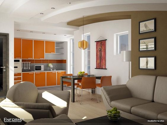 interior design websites for home - Interior design websites, ream sofa and Glass dining table on ...