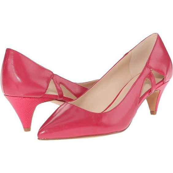 Nine West Coyote Women&39s 1-2 inch heel Shoes Pink ($45) ❤ liked