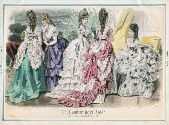 Le Moniteur de la Mode. 1872