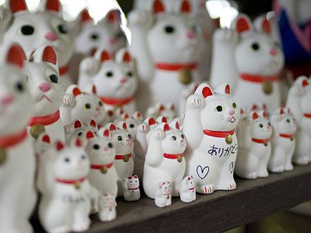 Manekineko;Fortune cats