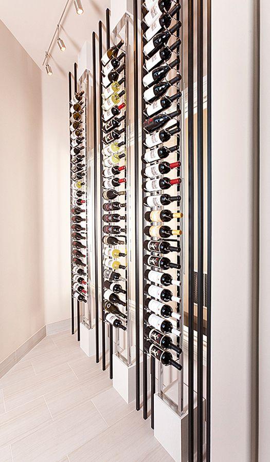 Floor To Ceiling Mounting Frame Create Specialty Wine Displays Home Wine Cellars Wine Cellar Design Wine Display